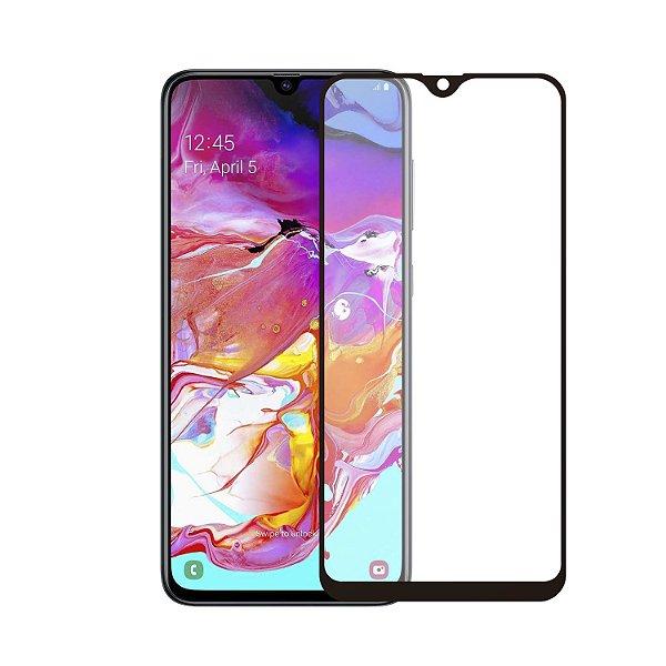 Película Coverage Color para Samsung Galaxy A70 - Preta - Gshield