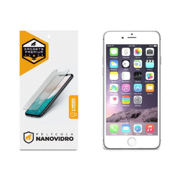 Película de Nano Vidro para iPhone 6 Plus e iPhone 6S Plus - Gshield