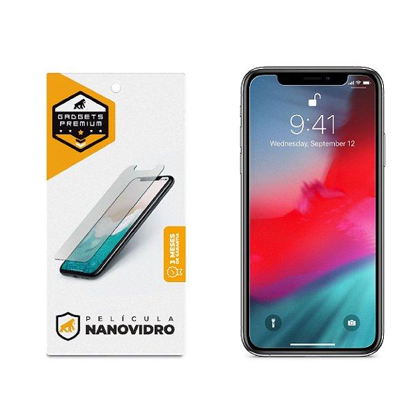 Película de Nano Vidro para iPhone X e iPhone XS - Gshield
