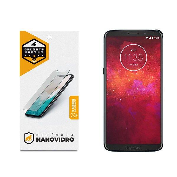 Película de Nano Vidro para Motorola Moto Z3 Play - Gshield