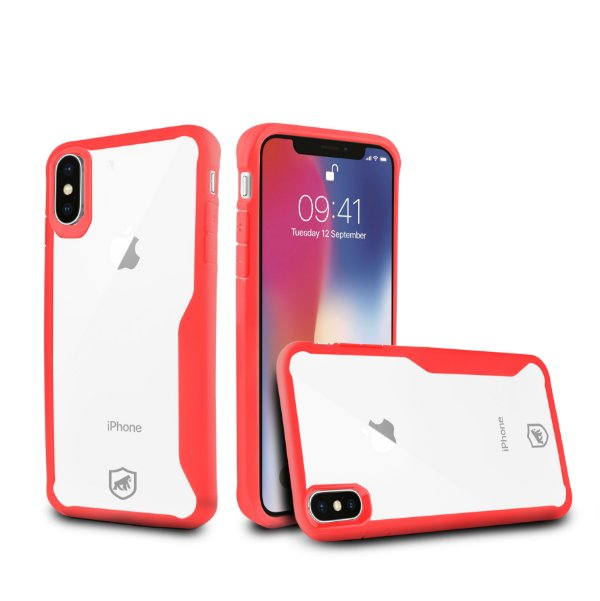 Capa Atomic para iPhone X e iPhone XS - Vermelha - Gorila Shield
