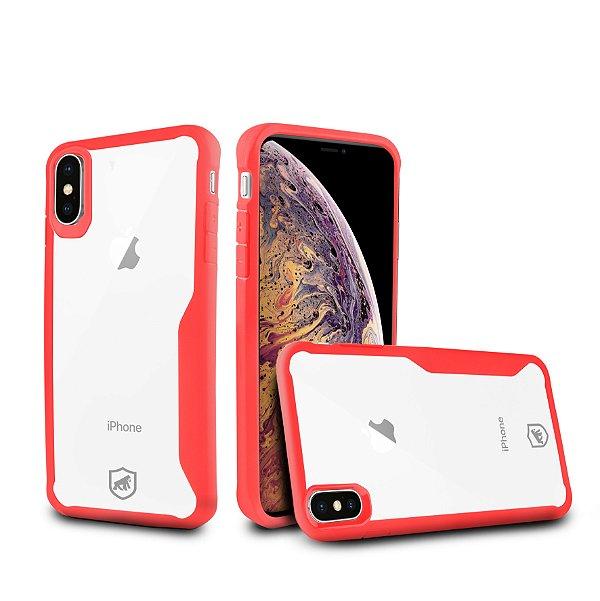 Capa Atomic para iPhone XS Max - Vermelha - Gshield