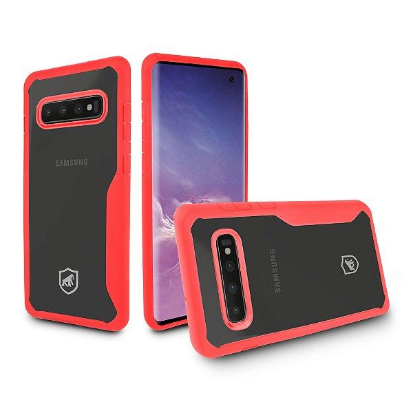 Capa Atomic para Samsung Galaxy S10 - Vermelha - Gshield