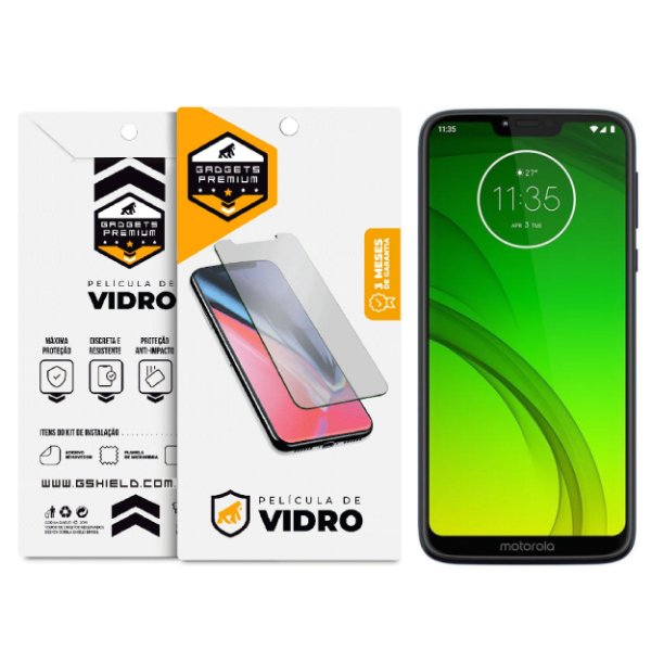 Película de Vidro Dupla para Motorola Moto G7 - Gshield