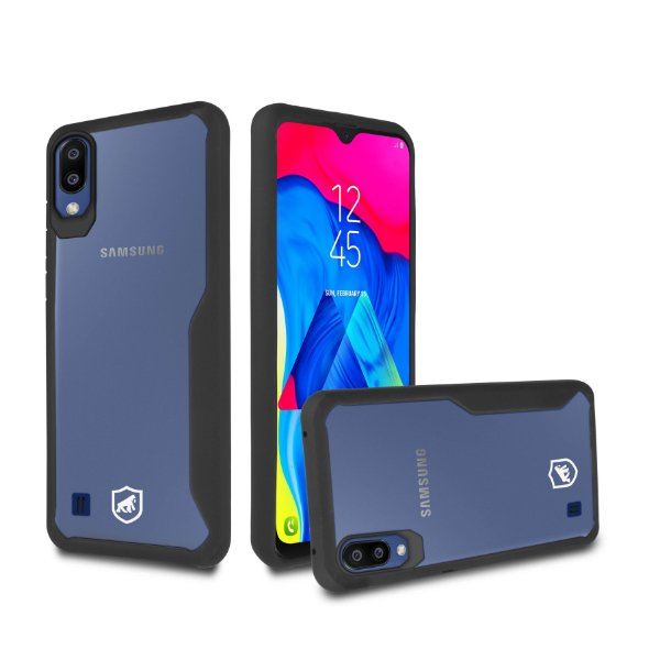 Capa Atomic para Samsung Galaxy M10 - Preta - Gorila Shield