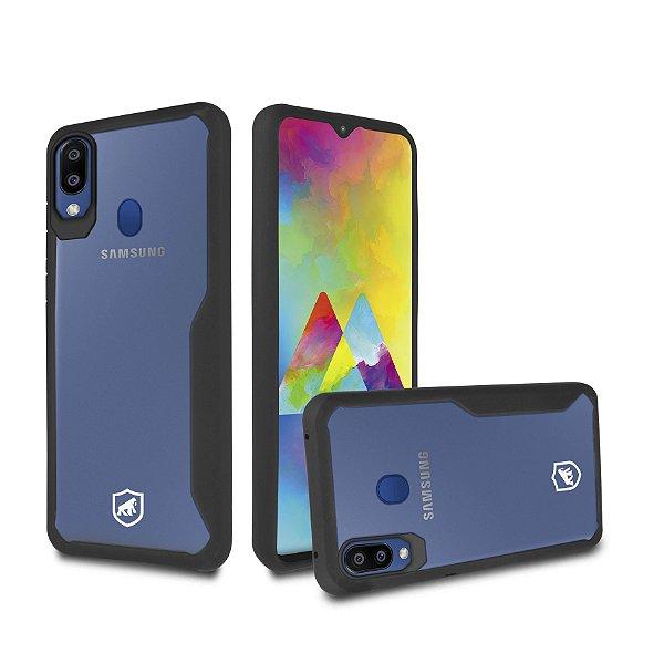 Capa Atomic para Samsung Galaxy M20 - Preta - Gshield