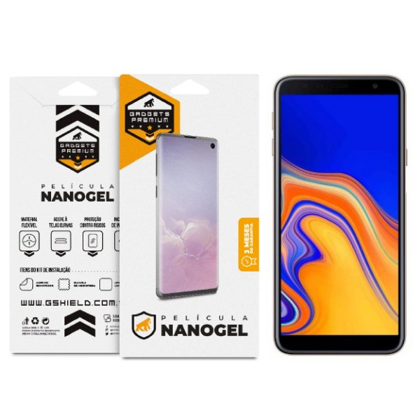 Película de Nano Gel Dupla para Samsung Galaxy J6 Plus - Gshield
