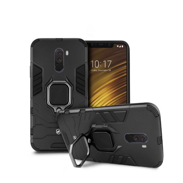 Capa Defender Black para Xiaomi Pocophone F1 - Gorila Shield
