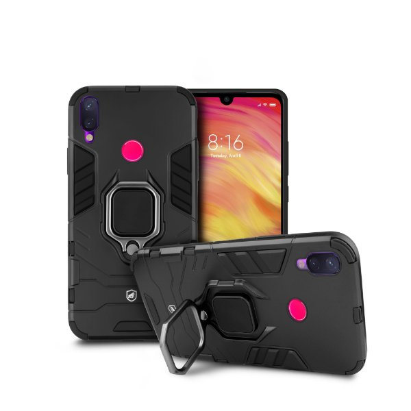Capa Defender Black para Xiaomi Redmi Note 7 Pro - Gorila Shield