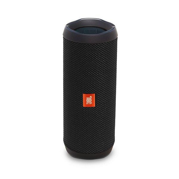 Caixa de Som JBL Flip 4 Preto - JBL