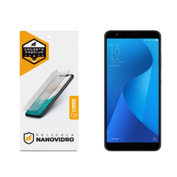 Película de Nano Vidro para Zenfone Max Plus M2 - Gshield