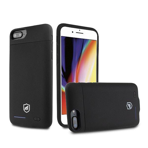 Capa Carregadora com Kick Stand para iPhone 8 Plus - Gorila Shield