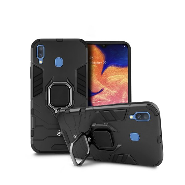 Capa Defender Black para Samsung Galaxy A30 - Gorila Shield
