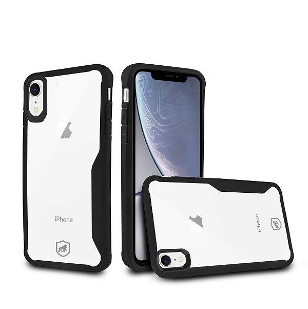 Capa Atomic para iPhone XR - Preta - Gorila Shield