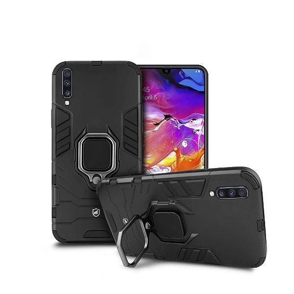 Capa Defender Black para Samsung Galaxy A70 - Gshield