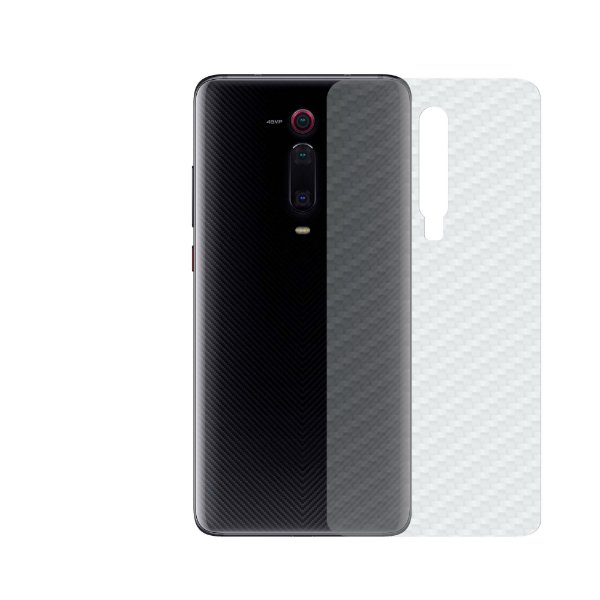 Película Traseira de Fibra de Carbono Transparente para Xiaomi Mi 9T (K20) - Gorila Shield