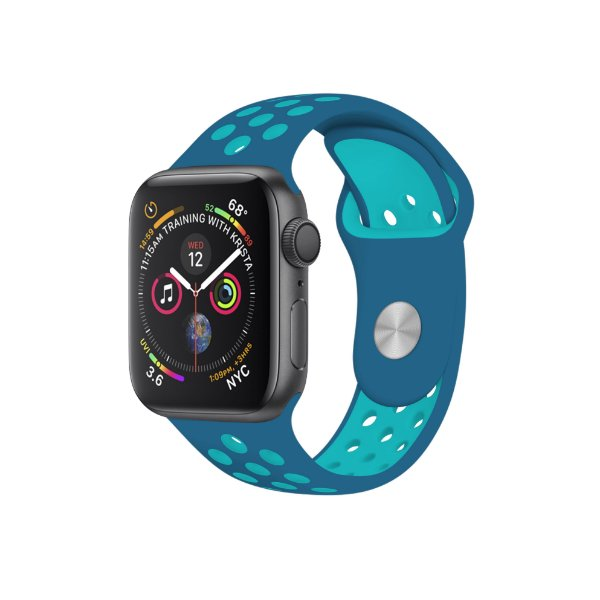 Pulseira para Apple Watch Armor Running 42mm /44mm - Azul escuro e Azul claro - Gshield