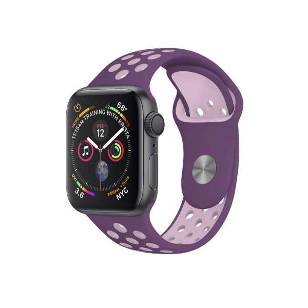 Pulseira para Apple Watch 42mm /44mm Armor Running - Roxo e Lilas - Gshield