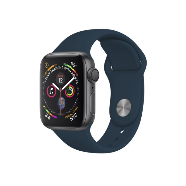 Pulseira para Apple Watch 42mm /44mm Ultra Fit - Azul Escuro - Gshield