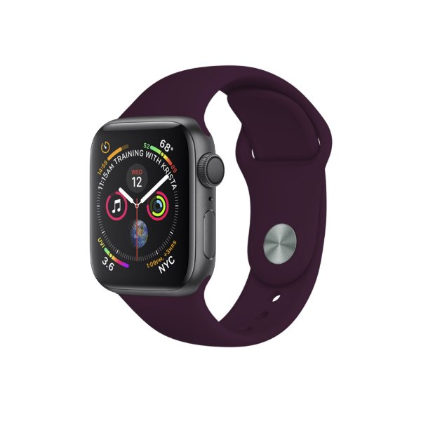Pulseira para Apple Watch 42mm /44mm Ultra Fit - Vinho - Gshield
