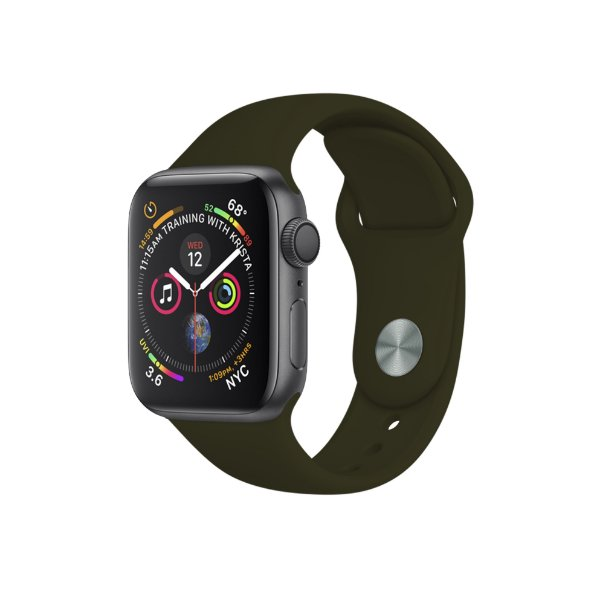 Pulseira para Apple Watch 42mm /44mm Ultra Fit - Verde Musgo - Gshield