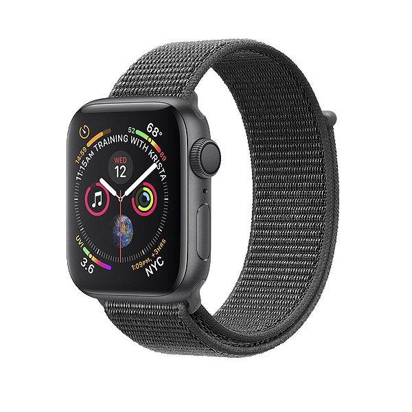 Pulseira para Apple Watch 42mm Ballistic - Cinza Escuro - Gorila Shield