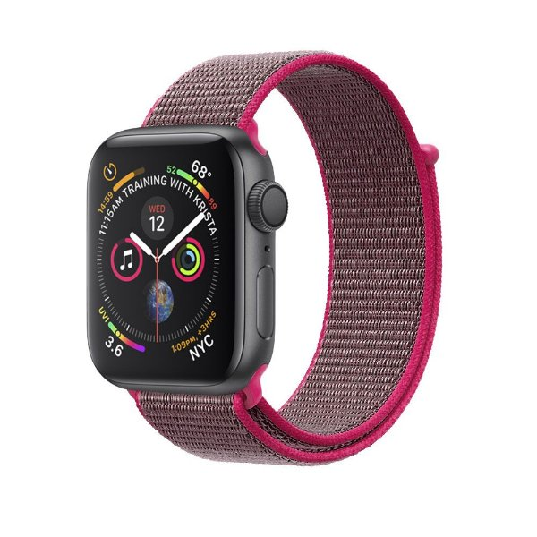 Pulseira para Apple Watch 42mm /44mm Ballistic - Magenta - Gshield