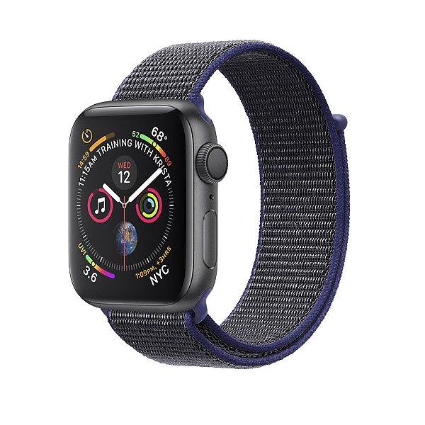 Pulseira para Apple Watch 42mm /44mm Ballistic - Blue Jeans - Gshield