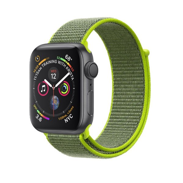 Pulseira para Apple Watch 42mm /44mm Ballistic - Verde Claro - Gshield