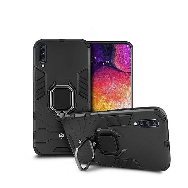 Capa Defender Black para Samsung Galaxy A50 - Gorila Shield