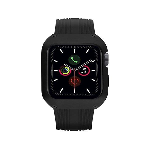 Pulseira Dual Shock para Apple Watch 44mm - Preta - Gshield
