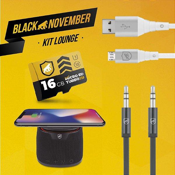 Kit Lounge I - Micro USB V8 - Black November - Gshield