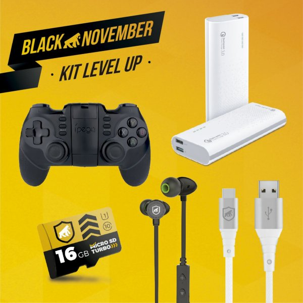 Kit Level Up II - Type C - Black November - GShield