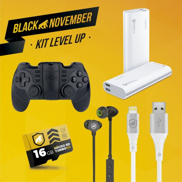 Kit Level Up III - Lightning - Black November - Gshield