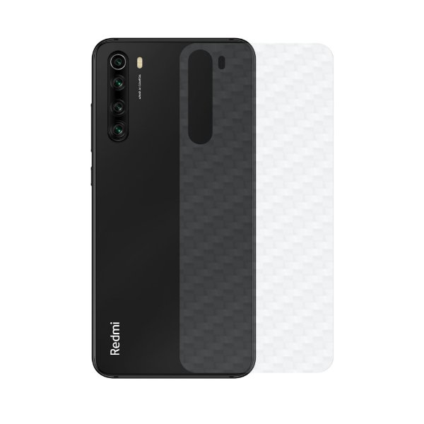 Película Traseira De Fibra De Carbono Para Xiaomi Redmi Note 8 - GShield