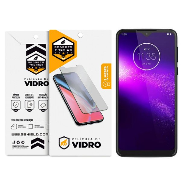 Película de Vidro Dupla para Motorola Moto One Macro - GShield