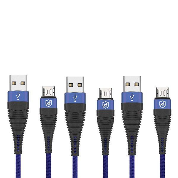 Cabo Phantom Micro USB V8 - Leve 3 pague 2 - GShield