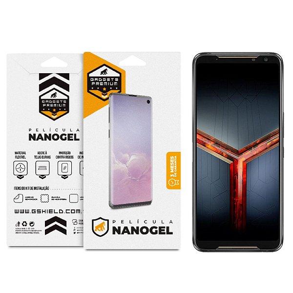 Película de Nano Gel Dupla para Asus Rog Phone II  ZS660KL - Gshield