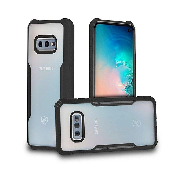 Capa Dual Shock X Preta para Samsung Galaxy S10E - GShield