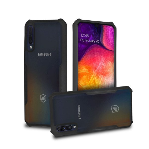 Capa Dual Shock X Preta - para Samsung Galaxy A50 - GShield