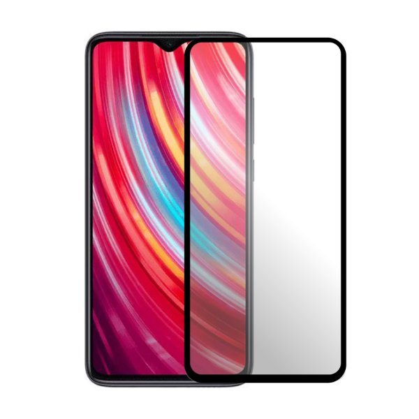 Película Coverage Color para Xiaomi Mi Note 10 E Mi Note 10 Pro - Preta - GShield (COBRE TODA TELA)