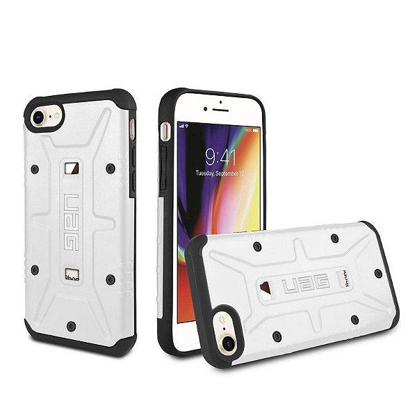 Capa Plasma Branca para iPhone 7, 8 e SE 2