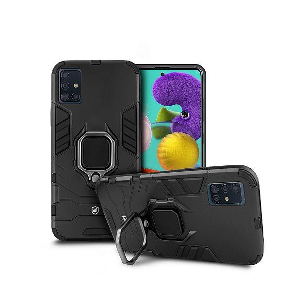 Capa Defender Black para Samsung Galaxy A51 - Gshield