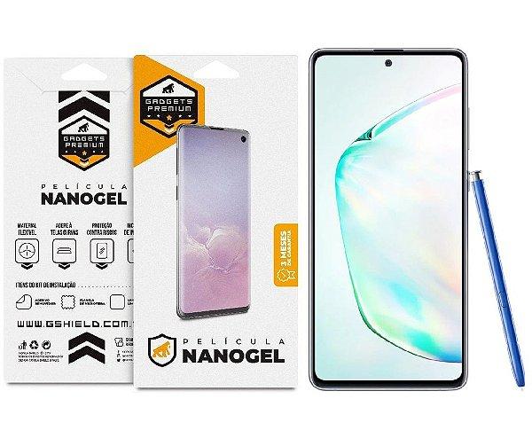 Película de Nano Gel Dupla para Samsung Galaxy Note 10 Plus - Gshield