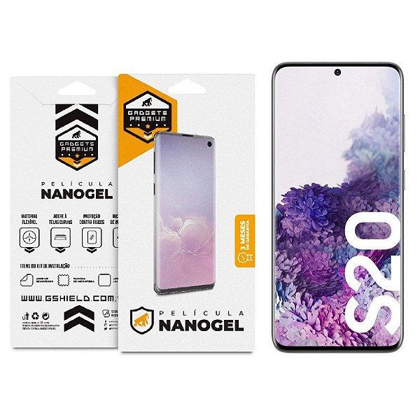 Película de Nano Gel Dupla para Samsung Galaxy S20 - Gshield