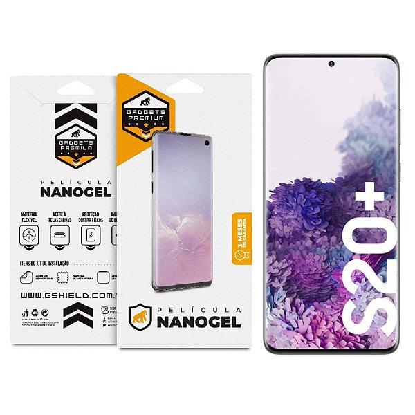 Película de Nano Gel Dupla para Samsung Galaxy S20 Plus - Gshield