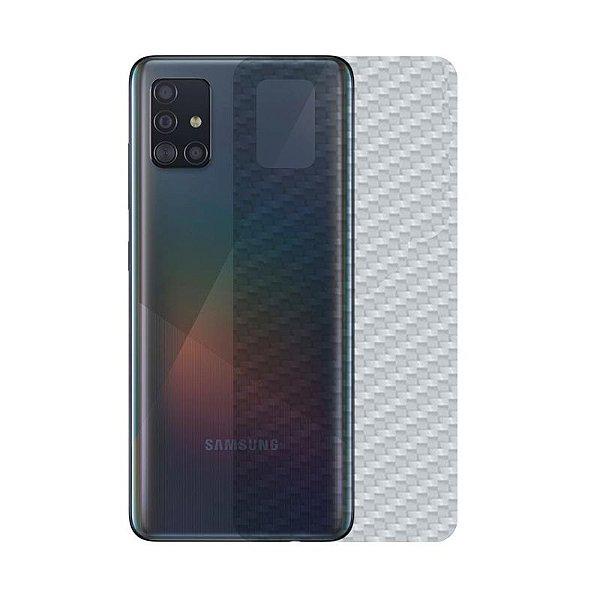 Película Traseira De Fibra De Carbono para Samsung Galaxy A51 - Gshield