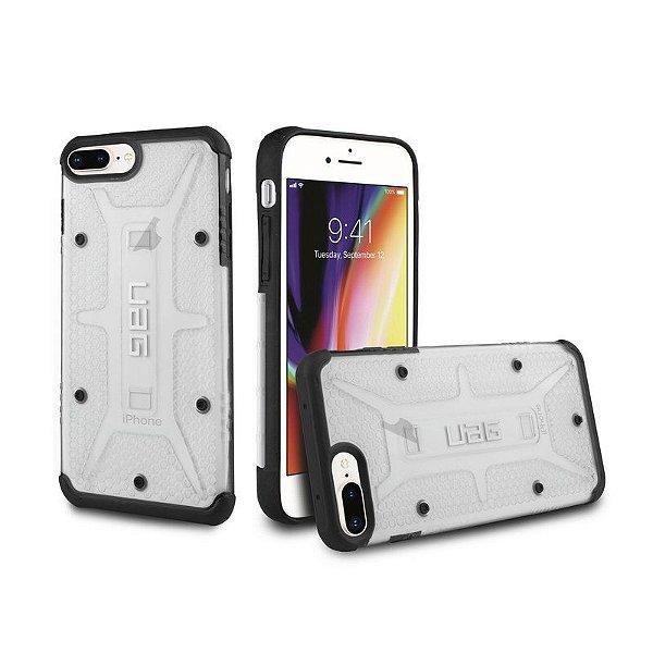 Capa Plasma Transparente para iPhone 7 Plus e 8 Plus