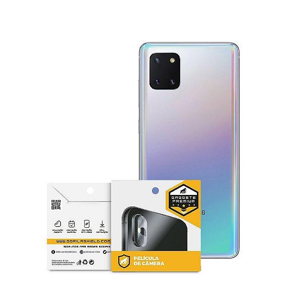Película Para Lente De Câmera Samsung Galaxy Note 10 Lite - Gshield