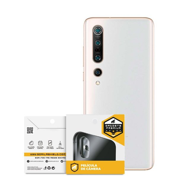 Película Para Lente De Câmera Xiaomi Mi 10 Pro - Gshield